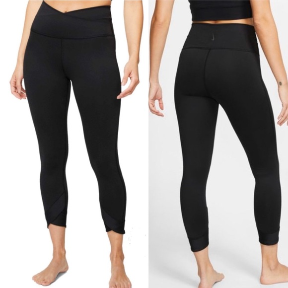 nike yoga pants 7/8